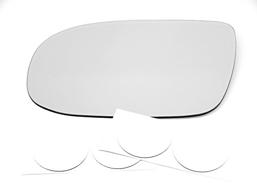 (VAM 97-03 Chevy Venture, 99-04 Pont Montana, 99-04 Olds Silhouette, 97-99 Pont Trans Sport Left Driver Heated Mirror Glass Lens w/Adhesive)