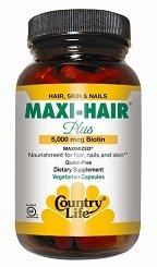 Country Life Maxi-Hair Plus - 90 - VegCap