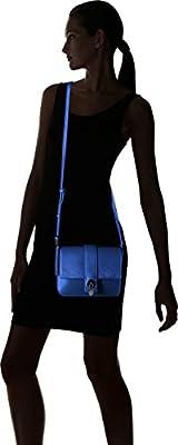 A X Armani Exchange Saffiano Baguette Bag