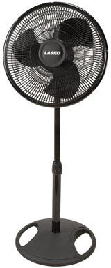 Lasko Stand Fan Black 2521
