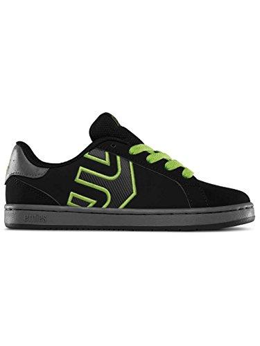 EtniesKIDS FADER LS - Scarpe da Skateboard Unisex – Bambini , Nero (Schwarz (BLACK/GREY / 570)), 34.5