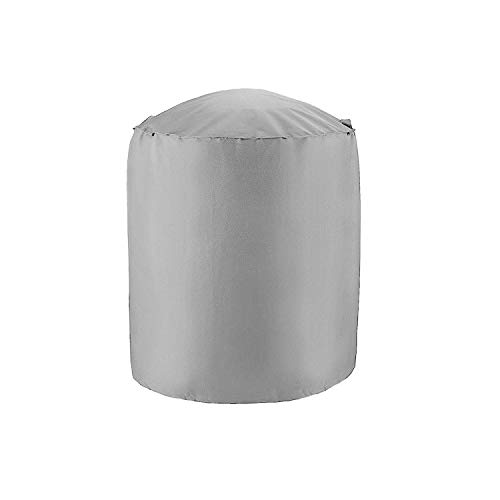 - Black Waterproof BBQ Grill Barbeque Anti Dust Protector Dome Cover Outdoor Rain Barbacoa for Gas Charcoal Electric Barbecue,Grey,27.5x27.5 inch