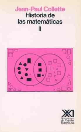 Descargar Libro Historia De Las Matemáticas, Volumen 2 Jean-paul Collette