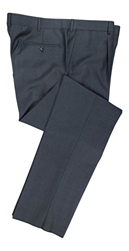 BELVEST Gray Wool SIngle Pleat Dress Pants Size 60/44 R Drop 6
