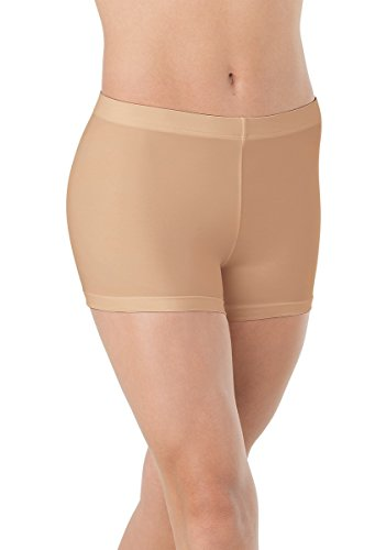 Balera Shorts Girls Mid Length Bottoms for Dance Womens Spandex Shorts -
