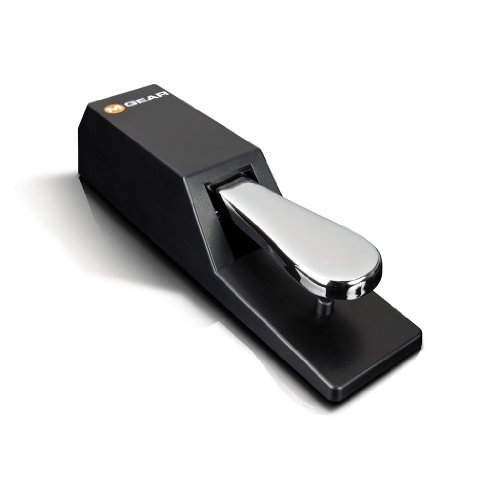 M-Audio SP-2 | Universal Sustain Pedal with Piano Style Action for Electronic Keyboards - Musical Instrument Accessories