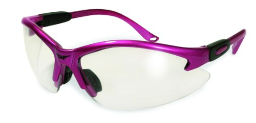 Cougar Safety Glasses - Hot Pink Frame / Clear Lens