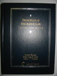 Principles of Insurance Law (Cases and Materials Series)
