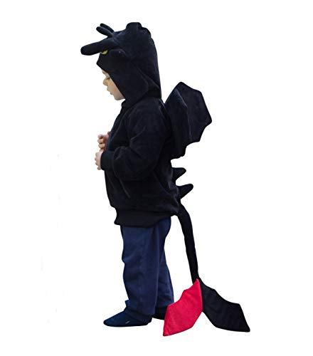ComfyCamper Dragon Costume Animal Play Sweatshirt Hoodie Boys / Girls (2-4 Years)]()