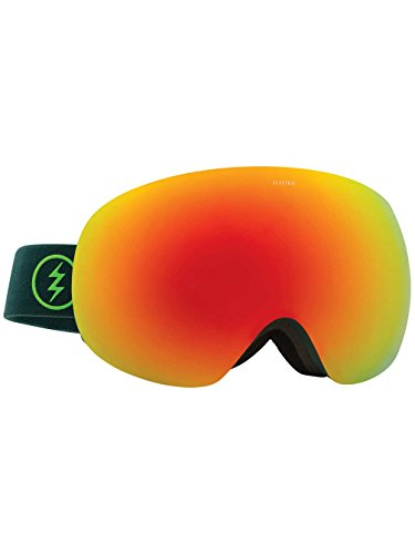 Electric Eg2 Snow Goggles - Electric Visual EG3 Hunter Green/Bronze Red Chrome Snow Goggle