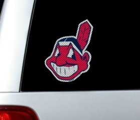 Cleveland Indians Die-Cut Window Film - Large ()