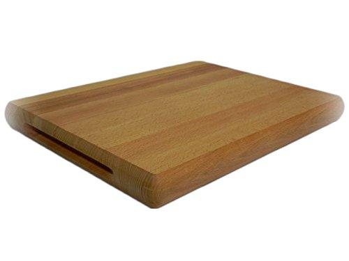 Chef cortar bloque–Tabla de cortar de madera grande tabla de cortar hecho de madera de roble–muy sólido 12x 16x 1, 5pulgadas (30x 40x 4cm) Wooden World