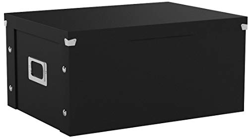 Media Storage Box, Holds 120 Slim/60 Std. Cases, Sold as 1 E