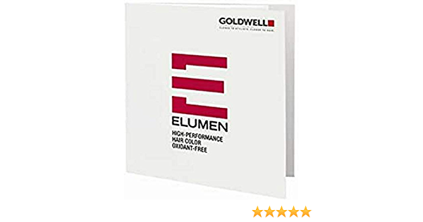 Goldwell Carta de colores de Elumen.
