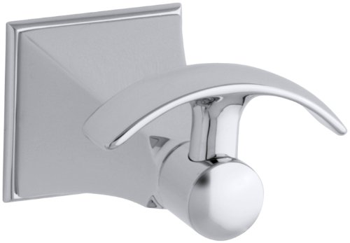 KOHLER K-492-CP Memoirs Robe Hook with Stately Design, Polished Chrome