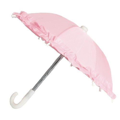 BUYS BY BELLA Pink Rain Umbrella for 18 Inch Dolls Like American Girl