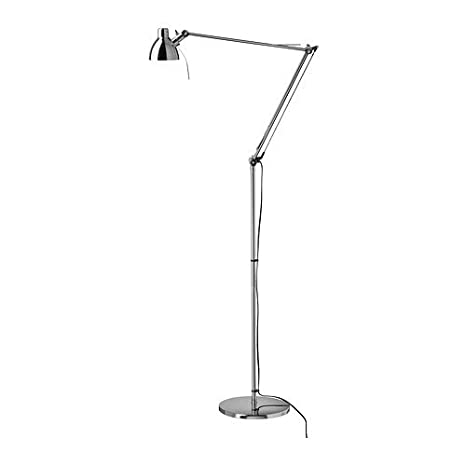 Ikeas antifoni floorreading lamp silver color amazon ikeas antifoni floorreading lamp silver color mozeypictures Images