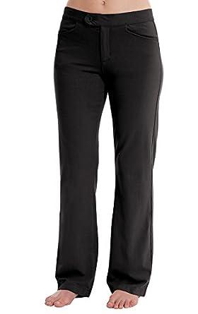 PajamaJeans - Black SLAX Dress Pants for Women at Amazon Women's ...