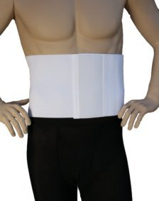 Alpha Medical Abdominal Binder Support Wrap/ Surgical Binder / Hernia Support /Abdominal Hernia Reduction Device (8