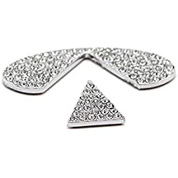 TopDall Steering Wheel Bling Crystal Shiny Diamond Accessory Interior Sticker for Infiniti