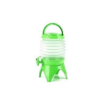 Dispensador de Agua de Cerveza Plegable de 5 litros para Coche, portátil, tapón para contenedor de Bebidas para Camping al Aire Libre: Amazon.es: Deportes y ...