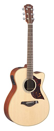 Yamaha Small Acoustic Electric Guitar Natural