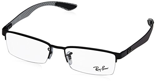 Ray-Ban Glasses 8412 2503 Black 8412 Rectangle Sunglasses