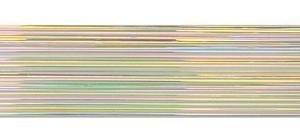 Dichoric Glass - Cbs Rainbow Dichroic On Clear 1mm Stringers - 96 Coe