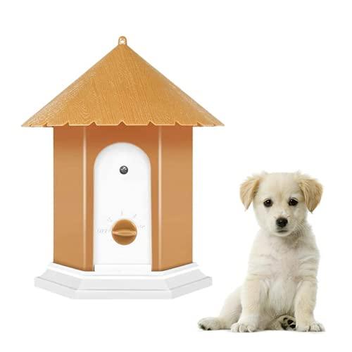 VOOO4CC Anti Dog Bark Control Device Ultrasonic Barking Deterrent Outdoor Waterproof
