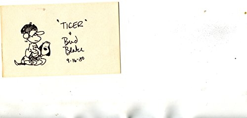 (BUD BLAKE (D) rare signed