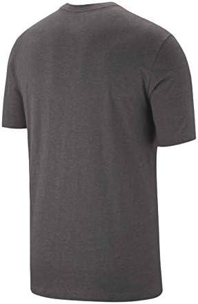 ナイキ JUST DO IT スウッシュ S/S Tシャツ S チャコールヘザー/ブルーゲイズ/(オブシディアン)