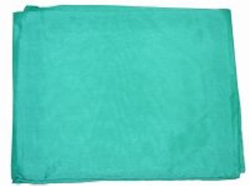 Silk Mens Neckerchief (Wyoming Traders Mens Solid Silk Wild Rag Scarf Emerald Green)
