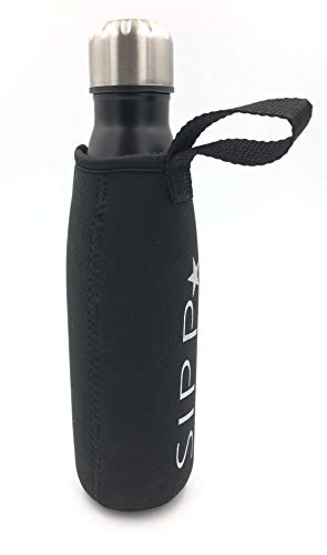 Water Drinking Bottle. Stainless Steel Drinking Bottle (Night Black)