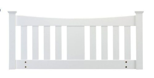 Arquette Headboard by Sweet Dreams Solid Wood Finished in Pure White, Double 135cm Sweet Dreams Beds