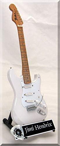 Réplica de guitarra en miniatura JIMI HENDRIX con púa para ...