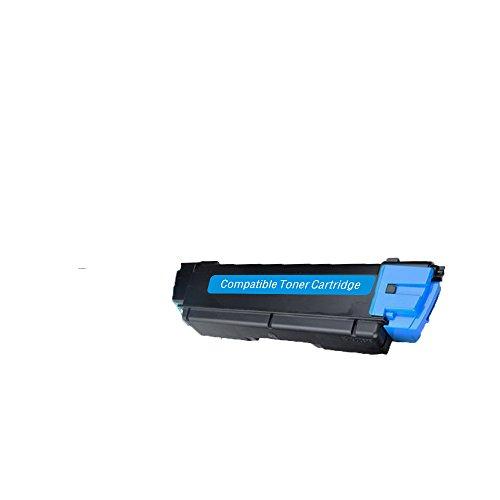 LCL Compatible for Kyocera TK592 TK-592 TK-592C (1-Pack Cyan) Toner Cartridge for Kyocera Mita FS-C2026MFP FS-C2526MFP FS-C2126MFP FS-C2626MFP - Cyan Tk592c Toner