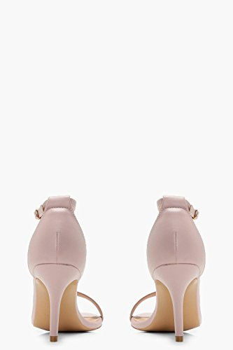 Boohoo Womens Eve Wide Fit Low Heel Two Part