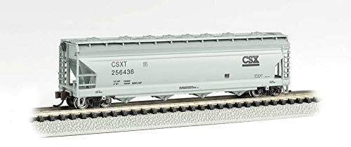 ACF 56' 4-Bay Center-Flow Hopper - CSX #256436 - N ()