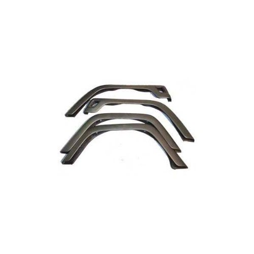 Rugged Ridge 11603.02 Factory Style Fender Flare Kit - 4 Pieces (Jeep Wrangler 4 Piece)