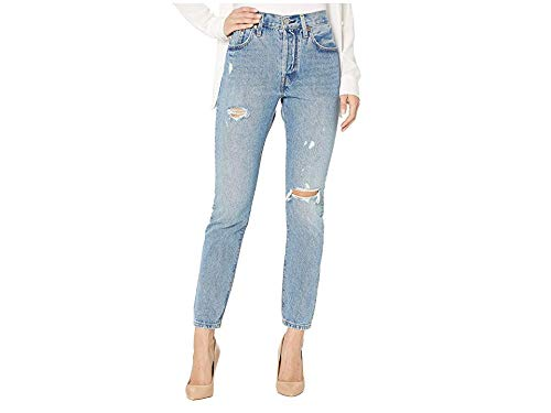 Levi's Women's 501 Skinny Jeans, Can't Touch This, Blue, 25 (Womens Levi Crop Jeans)