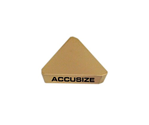 TPG321 Carbide Inserts 10 Pcs//Box AccusizeTools TiN Coated 2127-1026x10