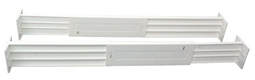 Dial Industries B1601 Adjustable Dream Drawer Dividers, Set of 2, 2.5