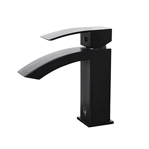 VIGO Satro Single Lever Basin Bathroom Faucet, Matte Black by VIGO