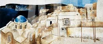ArtToCanvas 54W x 27H inches : Terrazzi by Fulvio Dot - Canvas ()