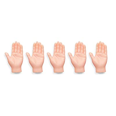 ACC Set of Five Rubber Finger Hands for Finger Hands Mini Puppets: Toys & Games