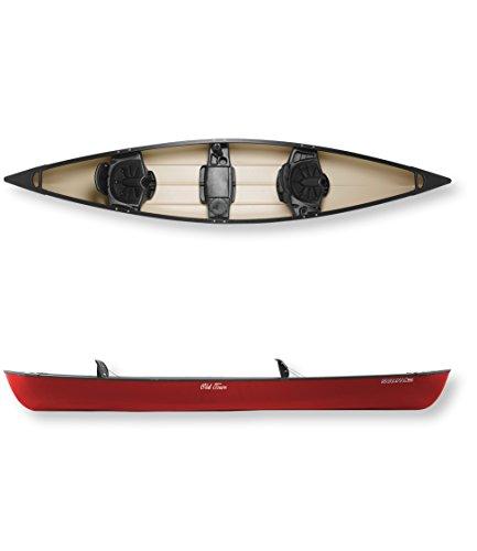Old Town Canoes & Kayaks Saranac 160 Recreational Family Canoe, Red