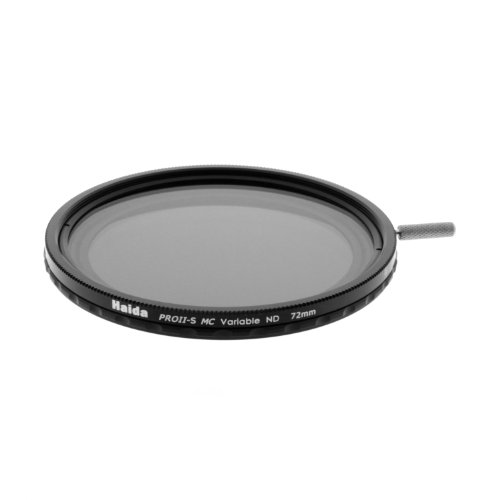 Haida 72mm PROII-S Multi-Coated Super Wide Angle Variable Neutral Density ND12-ND500 Filter