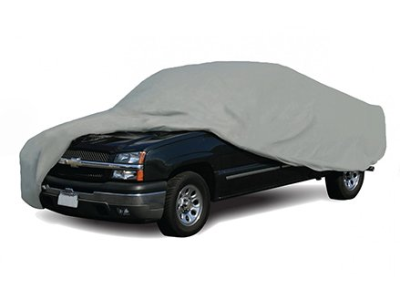 CoverMates Semi-Custom SIZE: Full Size Single Cab SB Truck Cover - Select basic - 2 YR Warranty- Grey - Chevrolet C30 Pickup Truck