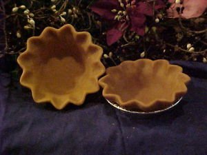 Crimped Pie Shell Full Crust 3 inch Silicone Mold 1083 Food-Soap-Candle-Resin-Flexible