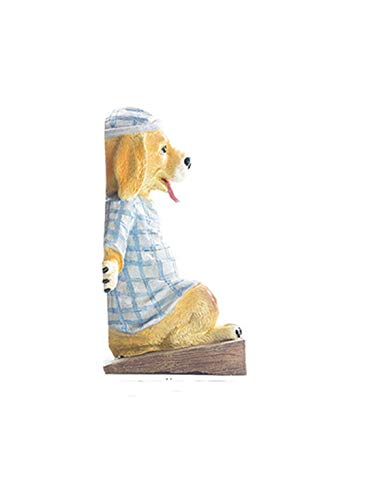 ZhihuaHd Pajamas Puppy bookend Book by Book Stand Decoration Creative Home Decorations Modern Minimalist European Pastoral Jewelry Small furnishings Accessories Decorations ()